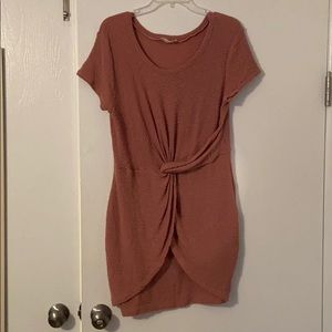 Pink Rouched Dress